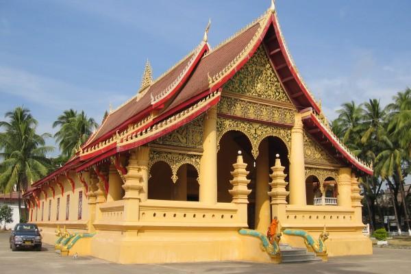 Wat Ong Tue, Vientiane in Laos, Laos Tour