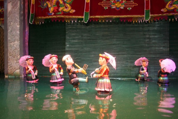 Water Puppet Show in Ethnology Museum, Hanoi Tour