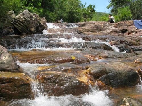 Waterfall in Tam Chuc Lake, Ha Nam, Ha Nam Province