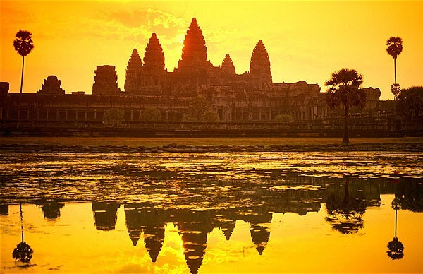 Angkor Wat Temple, Angkor Thom, Angkor in Siem Reap