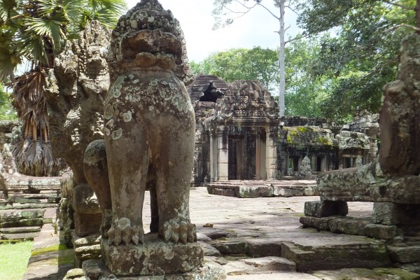 Banteay Kdei Temple, Banteay Kdei Temple in Siem Reap, cheap and good Vietnam hotels, Asia, south east
