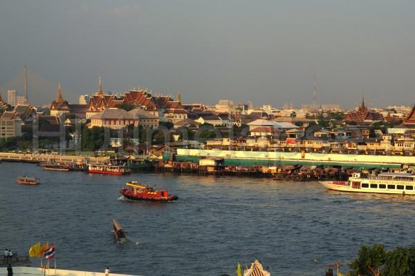 Chao Phraya River, Bangkok, Bangkok City, Thailand