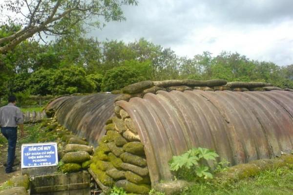 De Castries's bunker, Dien Bien, Dien Bien Province, Cheap Vietnam tours, Cheap Cambodia Tour
