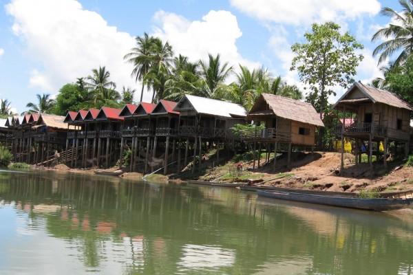 Don Khone Island, Don Khone Island in Laos