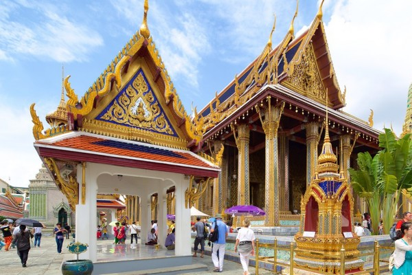 Emerald Buddha Temple, Emerald Buddha Temple in Bangkok