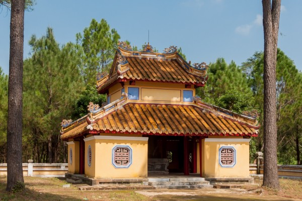 Gia Long Tomb, Gia Long Tomb in Hue, Hue Beach