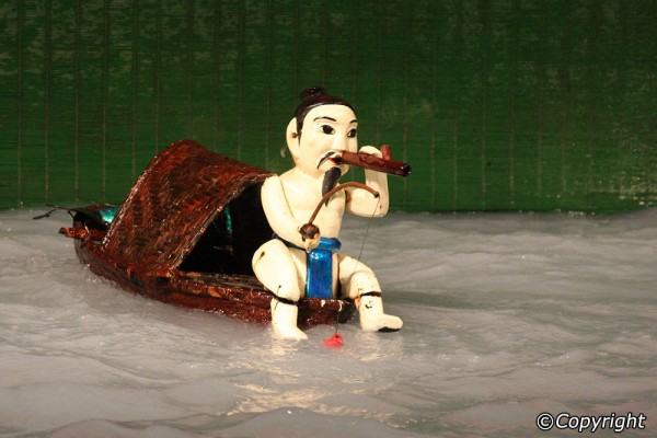 water puppet show hanoi, hanoi city tour