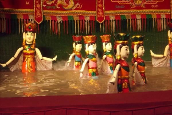 Hanoi Water Puppet show, Hanoi Tour, Hanoi Hotel