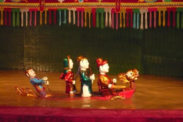 Hanoi Water Puppet show, Trave to Hanoi, Hanoi Tour
