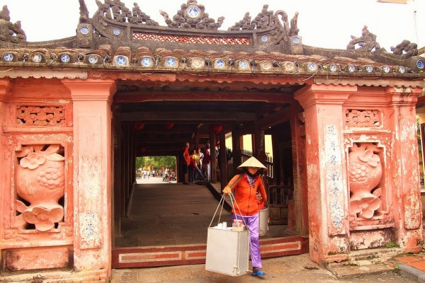 Japanese Covered Bridge hoi an, hoi an tour, vietnam travel, vietnam tour, indochina tour