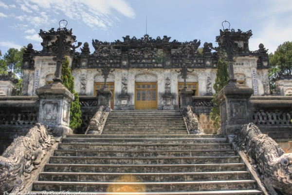Khai Dinh Tomb, Khai Dinh Tomb in Hue, Hue Boat Trip, Hue Travel