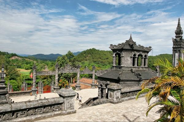 Khai Dinh Tomb, Hue Tomb, Travel, Holiday, Tour