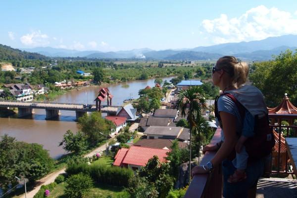 Mae Nam Kok to Tha To, Chiang Sean, Thailand