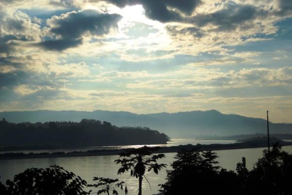 Mekong Riverbank, Chiang Sean, Thailand