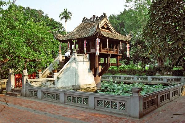 One Pillar Pagoda, Dien Huu Pagoda, Hanoi Pagoda