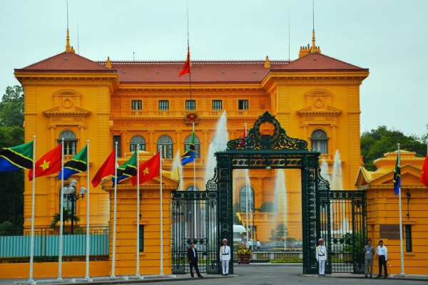Presidential Palace, Presidential Palace in Hanoi, Hanoi City Tour