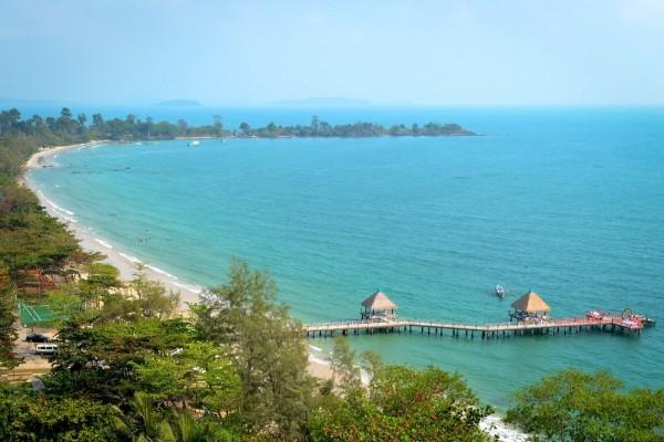 Sihanouk Ville Beach, Sihanouk Ville Beach in Cambodia, Cambodia Travel