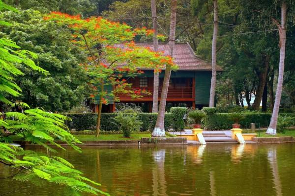 Stilt House Residence, Stilt House Residence in Ho Chi Minh Mausoleum, Hanoi