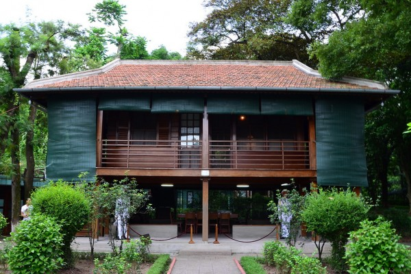 Stilt House Residence, Stilt House Residence in Ho Chi Minh Mausoleum, Hanoi Travel Guide