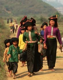 Black Thai Ethnic Minorities, Dien Bien, , Vietnam package tour, Vietnam holiday
