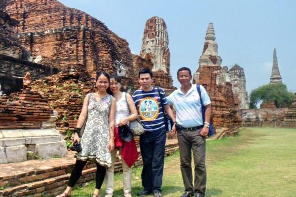 Wat Mahathat, Wat Mahathat temple, Ayuthaya in Thailand