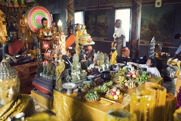 Wat Phnom, Wat Phnom in Phnom Penh camboia