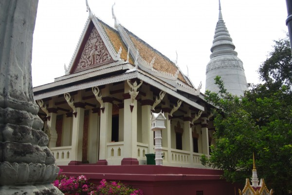 Wat Phnom, Wat Phnom in Phnom Penh, Phnom Penh, Thailand
