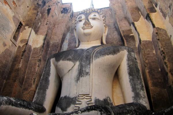 Wat Si Chum, Sukhothai, Sukhothai in Thailand.