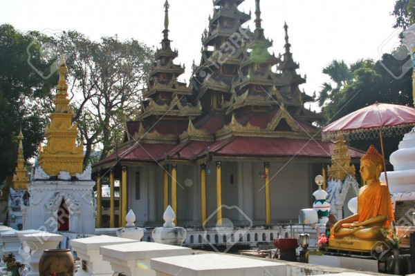 Wat Sri chum , Lampang, Thailand, Thailand Tour