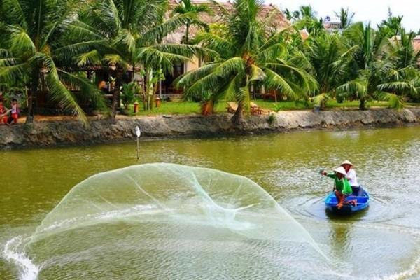 Cam Thanh Water Coconut Village hoi an, cam thanh village, travel hoi an