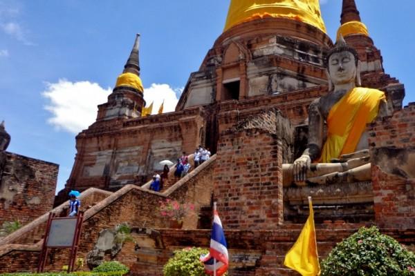 Wat Chai Mongkol. Pattaya, Thailand, Tour