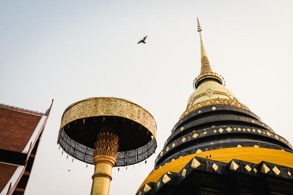 Wat Chedi Sao,Lampang, Thailand
