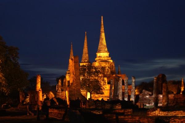 Wat Phra Sisanphet, Wat Phra Sisanphet temple, Thailand Tour