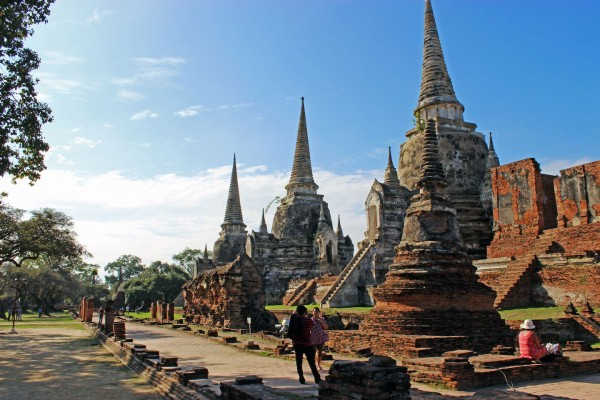 Wat Phra Sisanphet, Wat Phra Sisanphet Temple. Thailand Tour