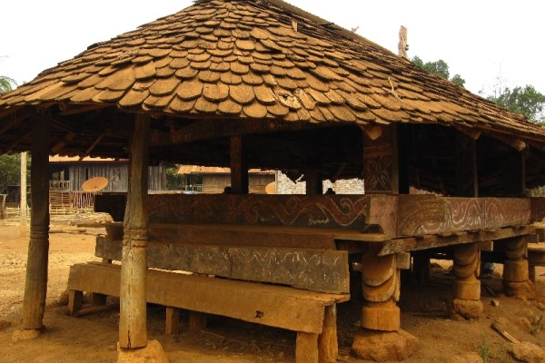 Alak Village, Pakse, Laos