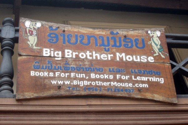 Big Brother Mouse, Luang Prabang, Laos