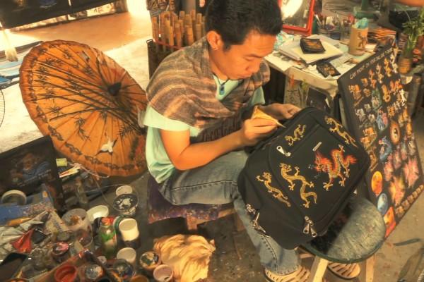 Bo Sang Handicraft, Chiang Mai, Thailand