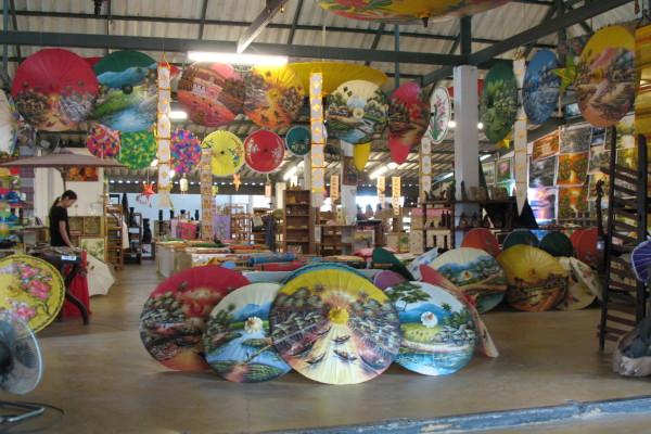 Bo Sang Handicraft, Chiang Mai, Thailand.