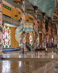 Cao Dai Temple, Tay Ninh, Saigon