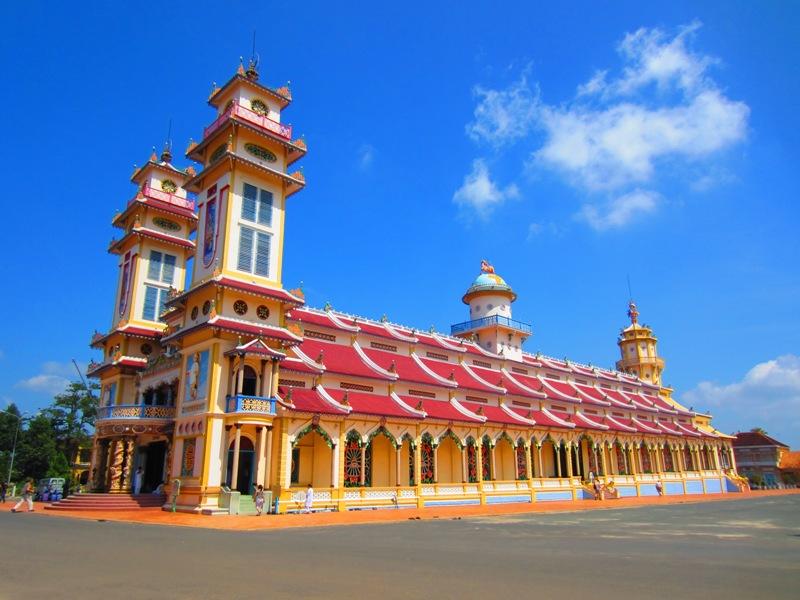 """Vaizdo rezultatas pagal užklausą """"cao dai temple ho chi minh"""""""