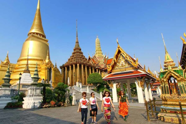 Chedis of the Kings, Bangkok, Thailand