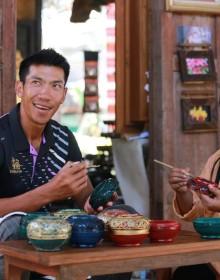 Chiang Mai Handcraft Village, Chiang Mai, Thailand