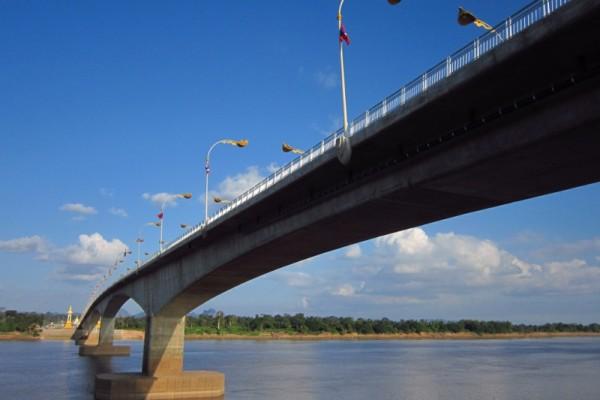 Friendship Bridge, Vientiane, Laos