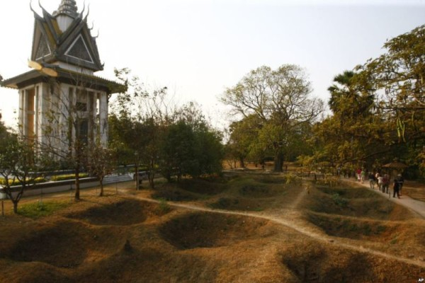 Choeung Ek Memorial, Phnom Penh, Cambodia
