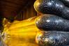Golden Reclining Buddha, Bangkok, Thailand