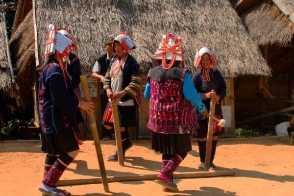 Hill tribe Village, Pai, Thailand