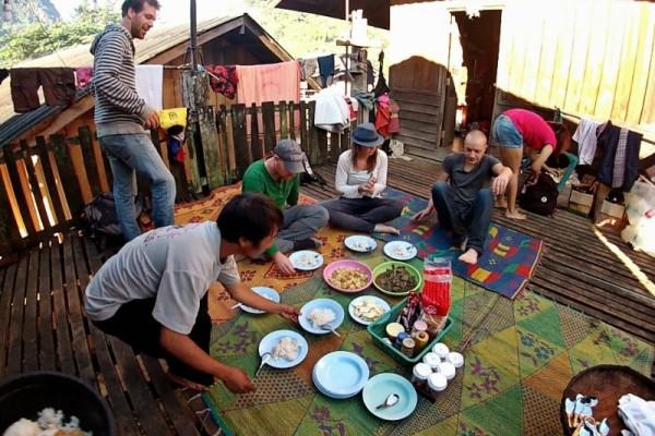 Hill tribe Village Trekking, Pai, Thailand