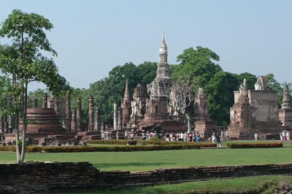 Khamphaengphet Historical Park, Thailand, Bangkok