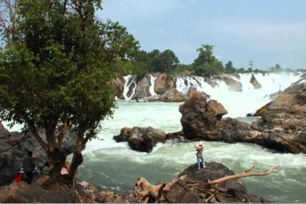 Khone Phapheng Fall, Don Khone Island, Laos