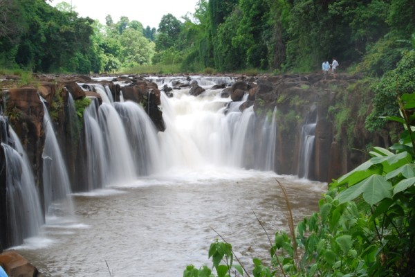 Liphi waterfall, Don Khone Island, Laos